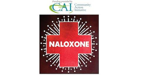 Large Outdoor Community Naloxone Training