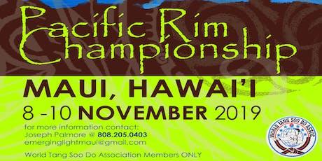 2019 Pacific Rim Championship tickets