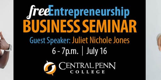 Entrepreneurship Speaker Series: Juliet Jones
