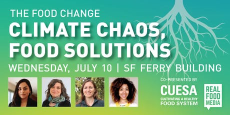 The Food Change | Climate Chaos, Food Solutions tickets
