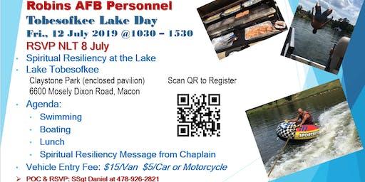 Robins AFB Lake Day