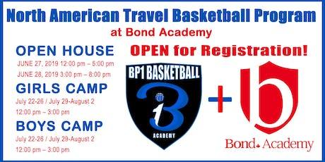 Open House: BP1 High School North American Travel Basketball Program tickets