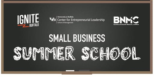 Small Business Summer School Graduation