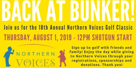 Northern Voices Golf Classic 2019 tickets