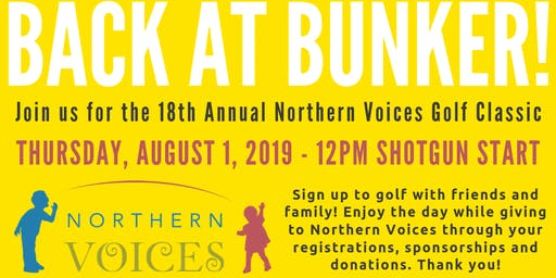 Northern Voices Golf Classic 2019