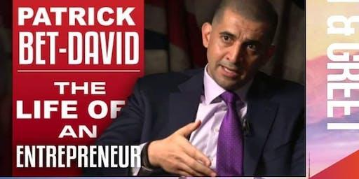 Free Financial Workshop by deca-millionaire Patrick Bet-David
