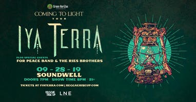 Iya Terra - Coming To Light Tour