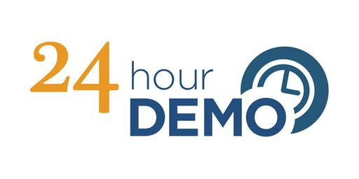 24-Hour DEMO: March 12-13, 2020