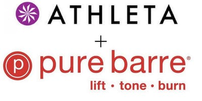 Pure Barre X Athleta Pop Up