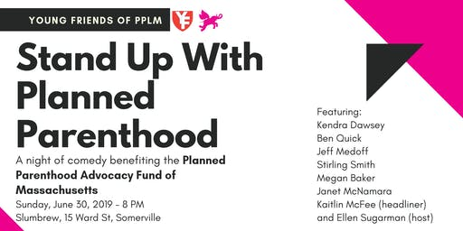 Stand Up for Planned Parenthood: A Liquid Courage Comedy Event