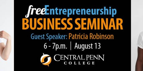 Entrepreneurship Speaker Series: Patricia Robinson tickets