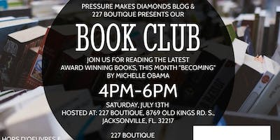 Book Club Meeting at 227 Boutique