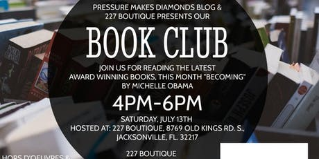 Book Club Meeting at 227 Boutique tickets