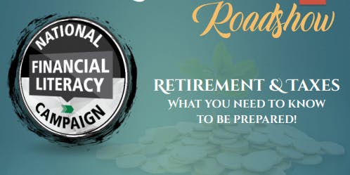 Retirement and Taxes Roadshow Country Hills Library