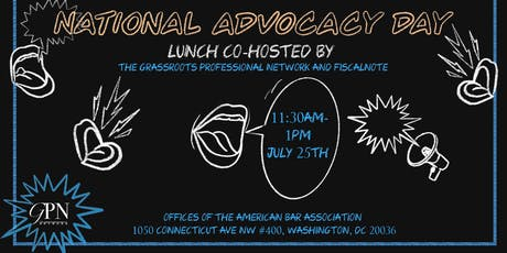 National Advocacy Day Data Privacy & Antitrust Lunch by FiscalNote tickets