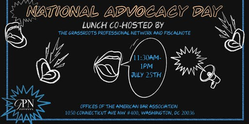 National Advocacy Day Data Privacy & Antitrust Lunch by FiscalNote