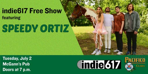 indie617 Free Show with Speedy Ortiz presented by Pacifico