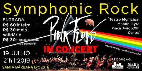 Symphonic Rock - Pink Floyd In Concert ingressos