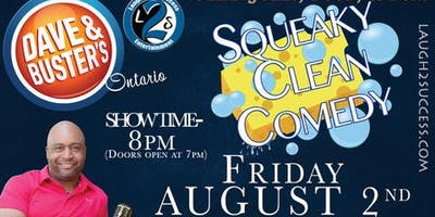2nd Annual Special Angels Foundation Squeaky Clean Comedy Fundraiser