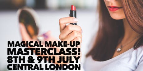 Unique & Exquisite Make-Up Masterclass with professional make-up artist  tickets