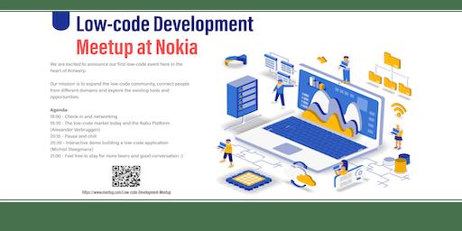 Antwerp low-code meetup at Nokia