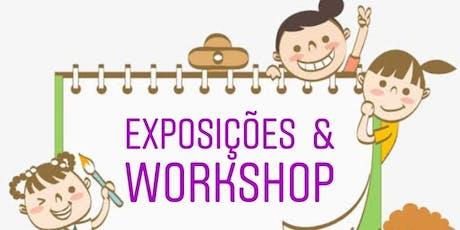 Feira de recursos visuais infantil e WORKSHOP em Osasco ingressos