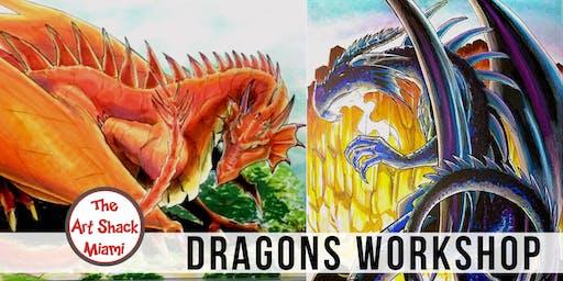 Cartoon Dragons Workshop