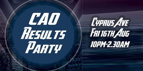 CAO Results Night tickets
