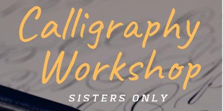 Miftaah Calligraphy Workshop tickets