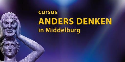 Cursus Anders Denken in Middelburg (12 lessen, minimaal 13 bijeenkomsten)