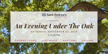 An Evening Under The Oak tickets
