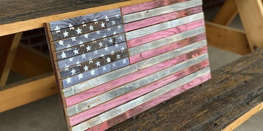 Build A Rustic American Flag With Reclaimed Wood