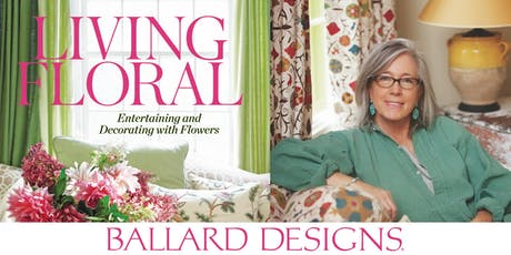 Living Floral Book Signing tickets