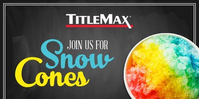 Snow Cone Event at TitleMax Tucker, GA