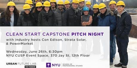 Clean Start 2019 Capstone Presentations tickets