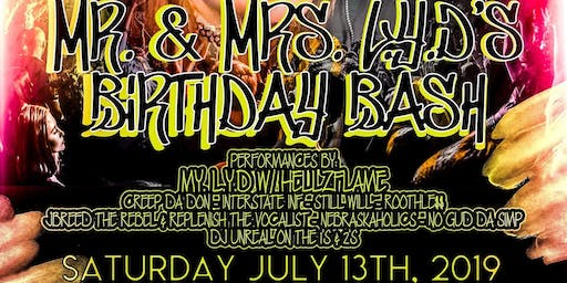 Mr. & Mrs. L.Y.D's Birthday Bash