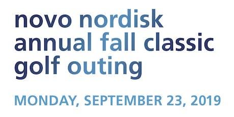 Novo Nordisk Annual Fall Golf Classic 2019 tickets