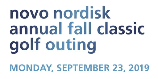 Novo Nordisk Annual Fall Golf Classic 2019