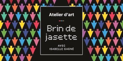 Atelier d'art visuel avec l'artiste Isabelle Gagné