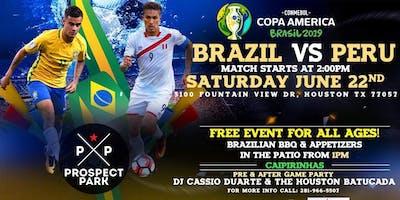 Brazil Vs Peru - Copa America 2018