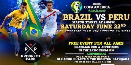 Brazil Vs Peru - Copa America 2018  tickets