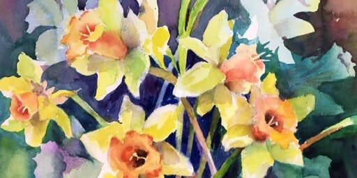 Ruth Kaldor Watercolor Painting Workshop — 4 Sessions  Total for all 4 sessions $150