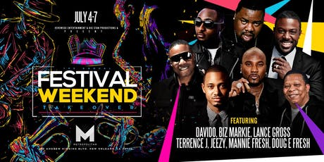 ((ESSENCE WEEKEND EVENTS)) Jack Daniel's present...The 12th Annual Festival Weekend TakeOver -> July 4th through July 7th @ The METROpolitan tickets