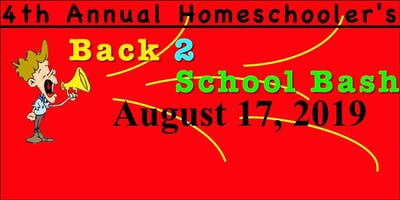 4th Annual Homeschooler's Back-2-School Bash