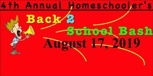 4th Annual Homeschooler's Back-2-School Bash