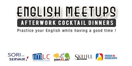 English Meetups Afterwork Cocktail `Dinners