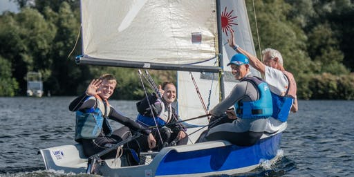 Try Dinghy Sailing July 2019
