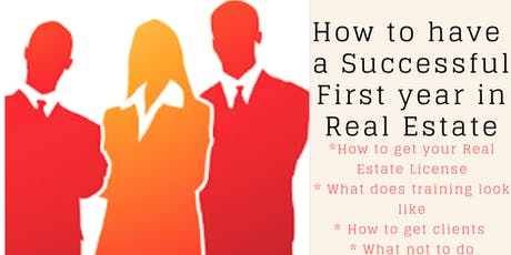 Real Estate Career Information Night tickets