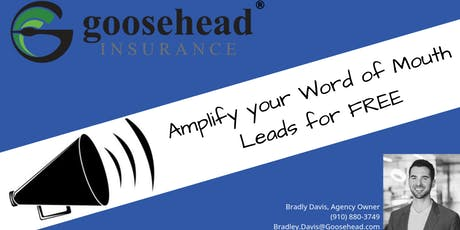Amplify Your Word of Mouth Leads For FREE tickets