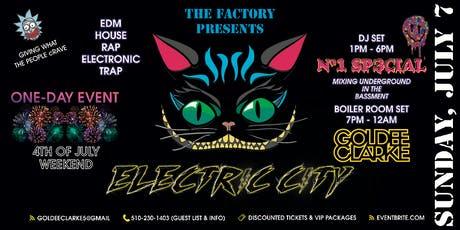 Electric-City tickets